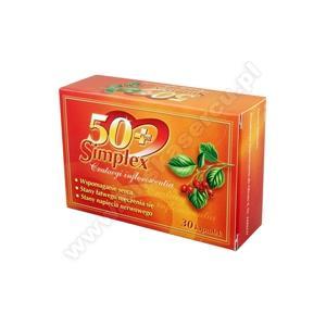 50 + Simplex, kapsułki marki Aflofarm - zdjęcie nr 1 - Bangla