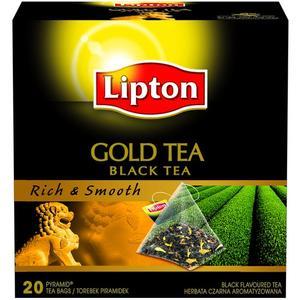 Gold Tea Black Tea, Rich & Smooth marki Lipton - zdjęcie nr 1 - Bangla