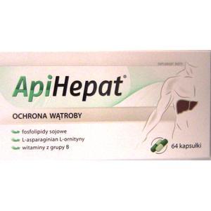 ApiHepat, Ochrona wątroby - kapsułki marki Apipol Farma - zdjęcie nr 1 - Bangla