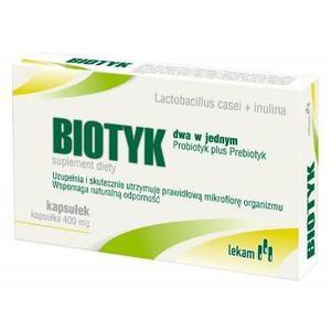 Biotyk, dwa w jednym - Probiotyk plus Prebiotyk marki Lekam - zdjęcie nr 1 - Bangla