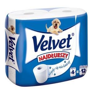 Velvet Najdłuższy, papier toaletowy marki Kimberley-Clark - zdjęcie nr 1 - Bangla