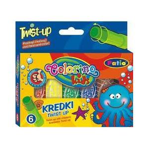 Colorino Kids, Twist-up, Kredki wykręcane marki Patio - zdjęcie nr 1 - Bangla