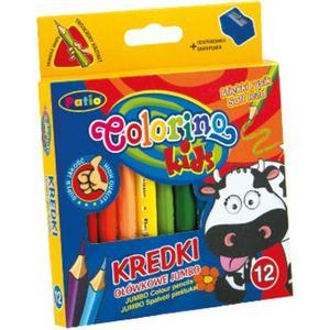 Colorino Kids, Kredki Ołówkowe Jumbo 6,5 cm marki Patio - zdjęcie nr 1 - Bangla