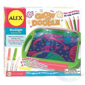 Glow-a-doodle, Podświetlana tablica do rysowania marki Alex - zdjęcie nr 1 - Bangla