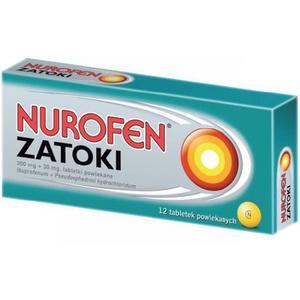 Nurofen Zatoki, tabletki powlekane marki Boots Healthcare - zdjęcie nr 1 - Bangla