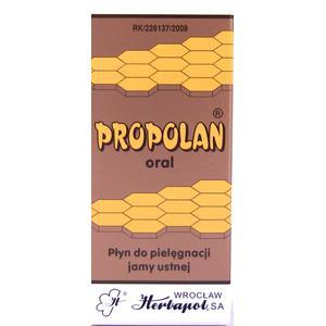 Propolan Oral płyn marki Herbapol Wrocław - zdjęcie nr 1 - Bangla