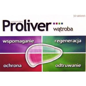 Proliver Wątroba, tabletki marki Aflofarm - zdjęcie nr 1 - Bangla