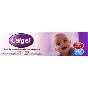 Calgel żel na dziąsła dla niemowląt marki Johnson & Johnson - zdjęcie nr 1 - Bangla
