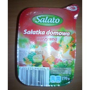Salato, Sałatka domowa warzywna marki Biedronka - zdjęcie nr 1 - Bangla
