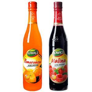 Syrop owocowy, różne smaki marki Łowicz - zdjęcie nr 1 - Bangla