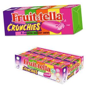Fruit-Tella Crunchies, cukierki do żucia marki Perfetti Van Melle - zdjęcie nr 1 - Bangla