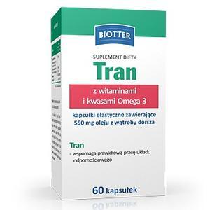 Tran z witaminami i kwasami Omega 3 marki Biotter - zdjęcie nr 1 - Bangla