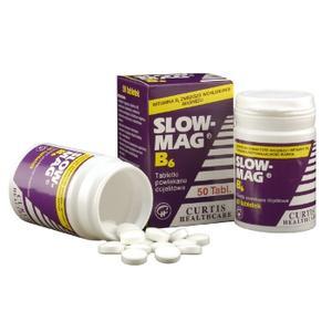 Slow-Mag B6, tabletki marki Curtis Healthcare - zdjęcie nr 1 - Bangla