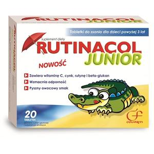Rutinacol Junior, tabletki do ssania marki Colfarm - zdjęcie nr 1 - Bangla