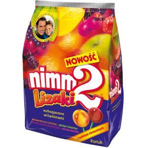 Nimm 2, Lizaki z sokiem owocowym marki Storck - zdjęcie nr 1 - Bangla