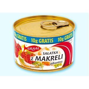 Sałatka z makreli pikantna marki Graal - zdjęcie nr 1 - Bangla