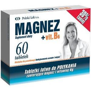Magnez + vit. B6 marki Polski Lek - zdjęcie nr 1 - Bangla