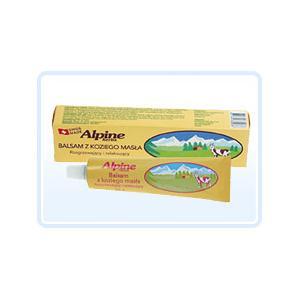 Balsam z Koziego Masła, Rozgrzewający i relaksujący marki Alpine Herbs - zdjęcie nr 1 - Bangla
