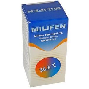 Milifen, zawiesina doustna- Ibuprofen marki Pinewood Laboratories LTD - zdjęcie nr 1 - Bangla