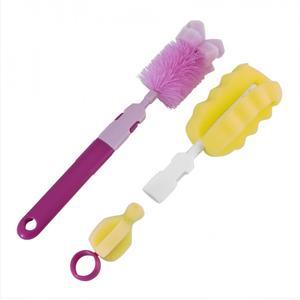 Zestaw szczotek do mycia butelek i smoczków 7/403 marki Canpol babies - zdjęcie nr 1 - Bangla