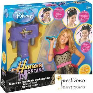 Disney, Hannah Montana Zestaw do zaplatania warkoczyków CZ-92837 marki Cobi - zdjęcie nr 1 - Bangla