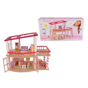 Drewniany Domek Hello Kitty 3137 marki Eichhorn - zdjęcie nr 1 - Bangla