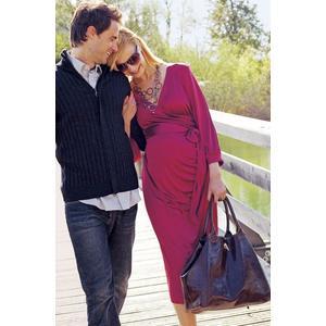 Sukienka ciążowa, różne wzory marki Piękny Brzuszek - zdjęcie nr 1 - Bangla