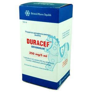 Duracef, zawiesina dla dorosłych i dzieci marki Bristol Myers Squibb - zdjęcie nr 1 - Bangla