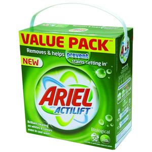 Actilift, Proszek do prania /zielone opakowanie/ marki Ariel - zdjęcie nr 1 - Bangla