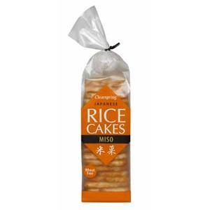 Japanese Rice Cakes Miso, Ciastka ryżowe z miso marki Clearspring - zdjęcie nr 1 - Bangla
