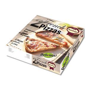 French 2 Pizzas Thin Crust, pizza z szynką marki Mantinga - zdjęcie nr 1 - Bangla