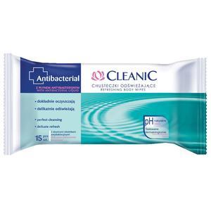Antibacterial, Chusteczki odświeżające marki Cleanic - zdjęcie nr 1 - Bangla