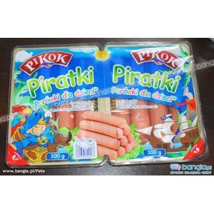Pikok, Piratki - Parówki dla dzieci marki Lidl - zdjęcie nr 1 - Bangla