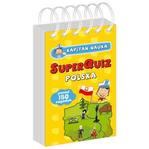 Kapitan Nauka, SuperQuiz, Polska/Świat/Piłka Nożna/Zwierzęta - różne tytuły marki Edgard - zdjęcie nr 1 - Bangla