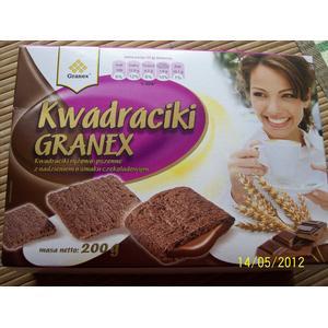 Kwadraciki, różne smaki marki Granex - zdjęcie nr 1 - Bangla