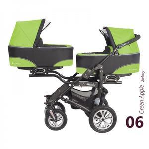 Twinni, wózek bliźniaczy marki BabyActive - zdjęcie nr 1 - Bangla