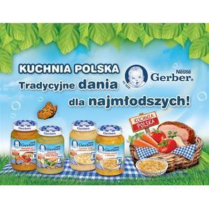 Kuchnia Polska, obiadki - różne rodzaje marki Dania gotowe Gerber - zdjęcie nr 1 - Bangla
