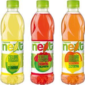 Next, Zielono Herbaciana napój - różne smaki marki Tymbark - zdjęcie nr 1 - Bangla