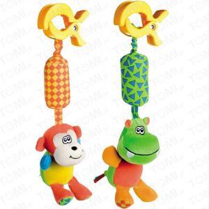 Zabawka pluszowa z dzwoneczkiem Hipcio/Małpka 68/009 marki Canpol babies - zdjęcie nr 1 - Bangla