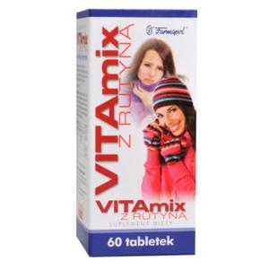 VitaMix z Rutyną, tabletki marki Farmapol - zdjęcie nr 1 - Bangla