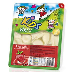 Pierożki z serem i truskawkami KiDS marki Virtu - zdjęcie nr 1 - Bangla