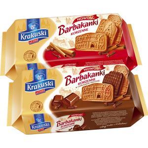 Barbakanki, ciastka korzenne/ciastka korzenne w czekoladzie mlecznej marki Krakuski - zdjęcie nr 1 - Bangla