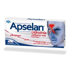 Apselan, tabletki marki Polfarmex - zdjęcie nr 1 - Bangla