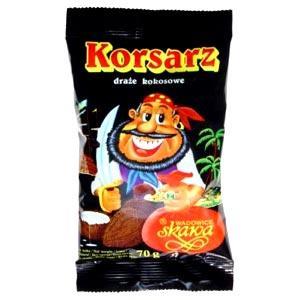 Korsarz, draże kokosowe marki Skawa - zdjęcie nr 1 - Bangla