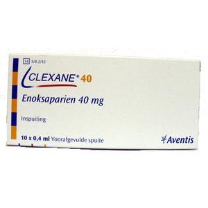 Clexane, Enoxaparinum natricum, ampułko-strzykawki do iniekcji marki Aventis - zdjęcie nr 1 - Bangla