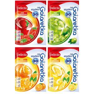 Galaretka na szybko, różne smaki marki Delecta - zdjęcie nr 1 - Bangla