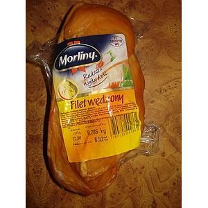 Filet wędzony z kurczaka marki Morliny - zdjęcie nr 1 - Bangla
