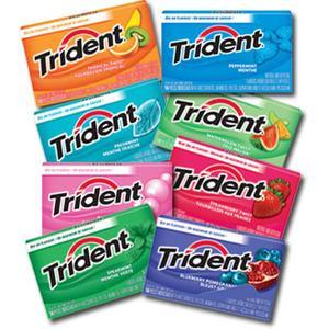 Gum, Guma do żucia - różne smaki marki Trident - zdjęcie nr 1 - Bangla