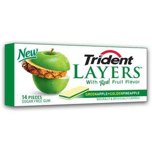 Layers, Sugar free Gum, guma do żucia bez cukru - różne smaki marki Trident - zdjęcie nr 1 - Bangla