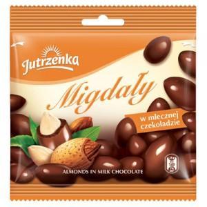Migdały w czekoladzie marki Jutrzenka - zdjęcie nr 1 - Bangla